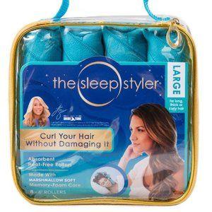 Sleep Styler Hair Curlers - Teal